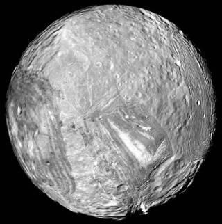Uranus' icy moon Miranda