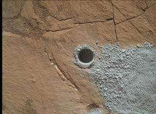 Hole at 'Buckskin' Drilled Days Before Landing Anniversary