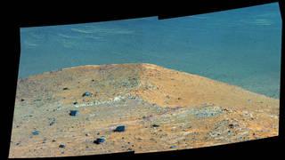 """Spirit Mound"" on Mars"
