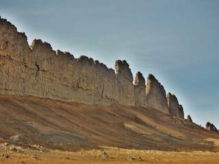 Shiprock in northwestern New Mexico