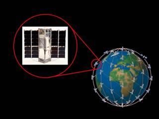 Radiometer Assessment using Vertically Aligned Nanotubes, or RAVAN, is a 3-unit CubeSat.