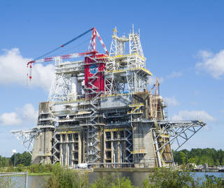B-2 Test Stand at NASA's Stennis Space Flight Center