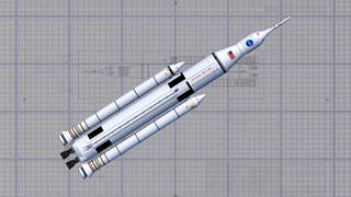 NASA's nye SLS Heavy Duty raket
