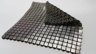 3-D-printed metallic