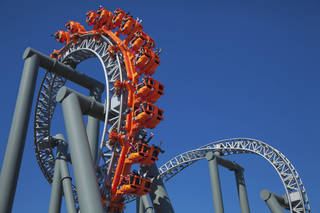 NASTRAN technology is used to design roller coasters