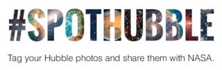 #SpotHubble graphic