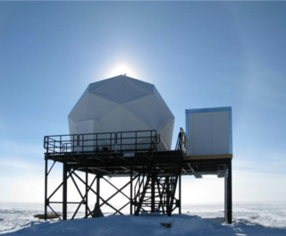 Image showing the South Pole TDRS Relay System.