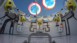 Starliner parachutes deploy