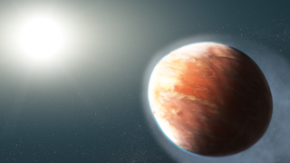 illustration of WASP-121b exoplanet