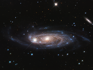 Huge spiral galaxy UGC 2885, located 232 million light-years away in the northern constellation, Perseus.