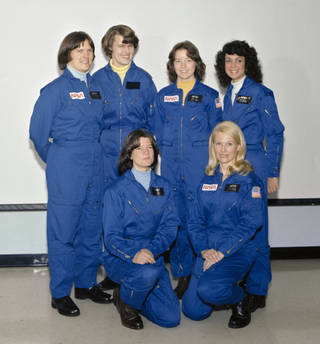 The first six women selected to be NASA astronauts