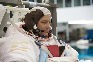 NASA astronaut Scott Tingle