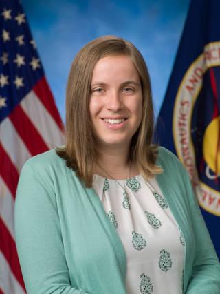 Fiona Turett, part of NASA's flight director class of 2021