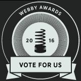 Webby Award Nominee graphic