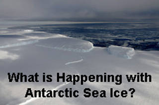 The Ross Sea region has seen some of the largest increases in Antarctic sea ice extent.