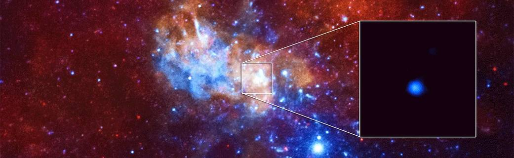 Astronomers discover puzzling supermassive black hole thats 2000x as massive as the one at the centre of the Milky Way. Puzzling because they didnt realise a black hole could be so massive this young.