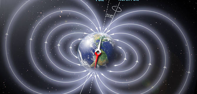 Image result for magnetic field reversal