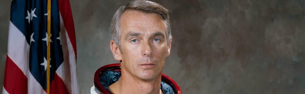 Astronaut Gene Cernan