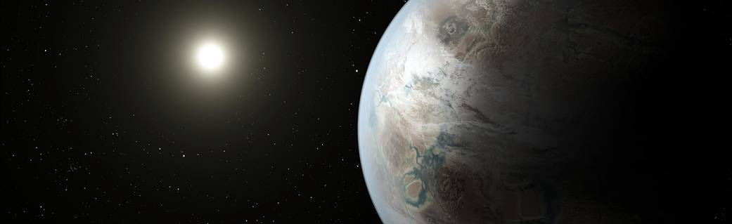 Artist's concept of Kepler-452b