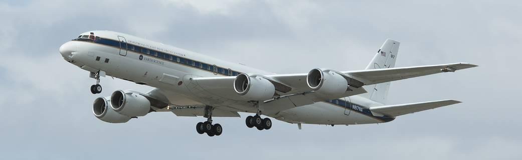 NASA's DC-8 flying laboratory