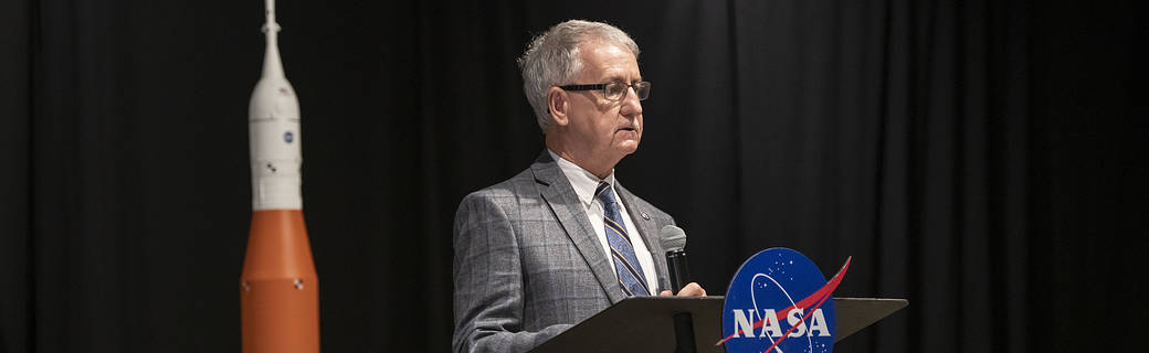 David Brock, small business specialist and NASA Mentor-Protégé Program manager at NASA's Marshall Space Flight Center.