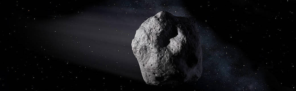 Artist's impression of asteroid (NASA/JPL)