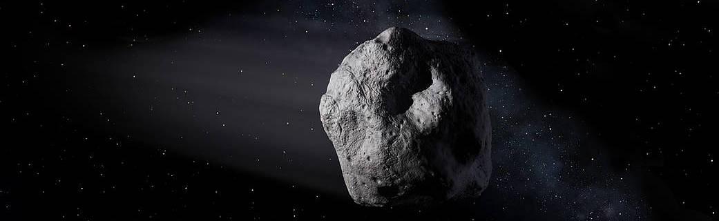 Artist's impression of asteroid (NASA/JPL)