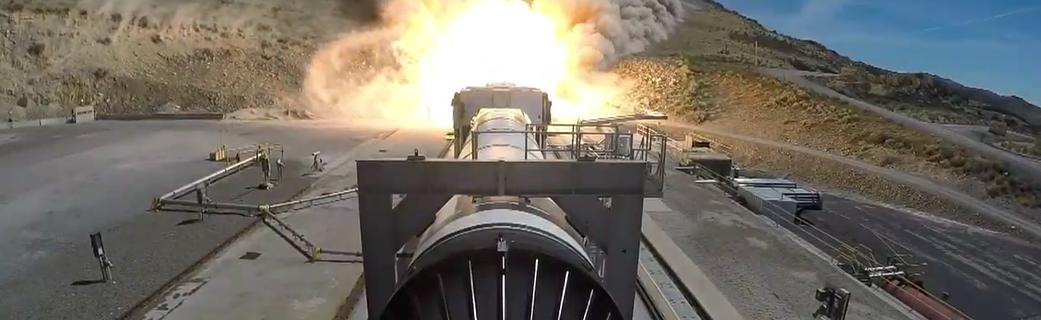 La Nasa realiza una prueba de refuerzo del SLS para futuras misiones de Artemis.