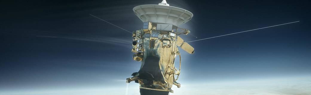 Cassini versus Saturn Illustration