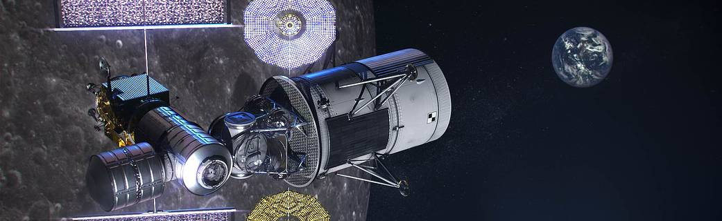 Los ingenieros de la NASA analizan las necesidades de navegación de las misiones de Artemis