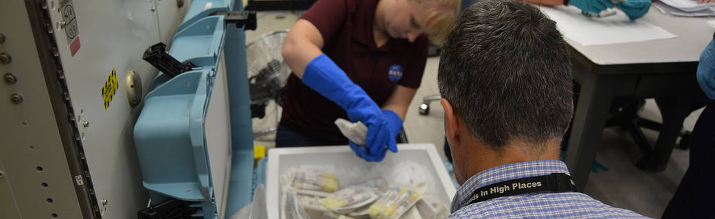 Thousands Of One-Year Mission Samples Recovered From The Dragon (nasa.gov)
