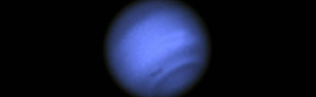 New dark spot on Neptune