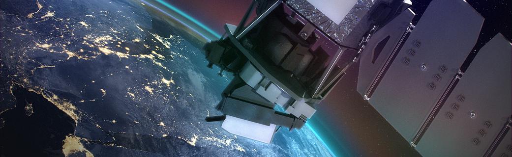 artist concept of ICON satellite