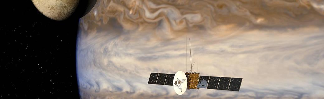 Artist's impression of JUICE Mission to Jupiter System