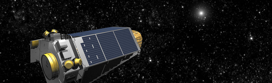 Kepler detecting the brightening of a star