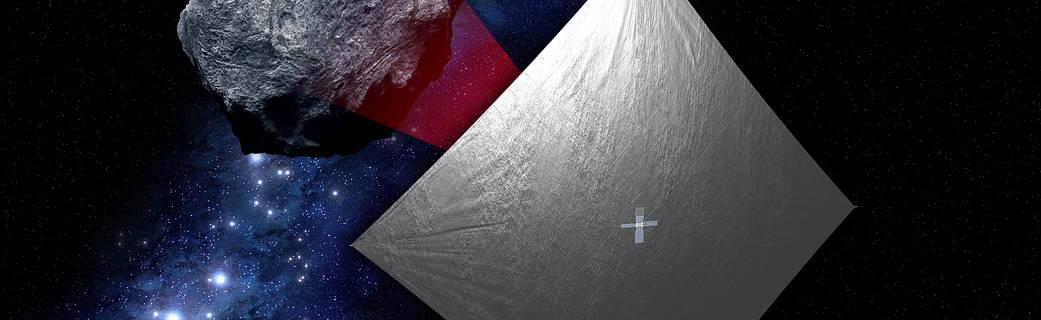 Solar Sails, Interplanetary Propulsion System: NASA Tests Deployment And Preps For Liftoff! (nasa.gov)