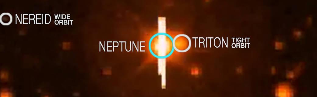 Kepler observes Neptune and its moons