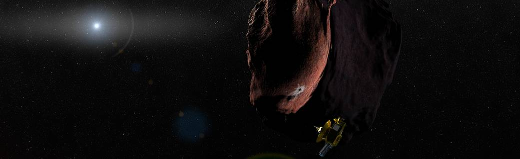 New Horizons Kuiper Belt object encounter