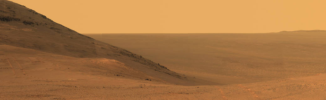 pia21723  Panorama Above 'Perseverance Valley' on Mars