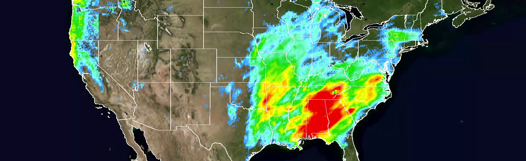 Nasa Maps El Niño's Shift On Us Precipitation