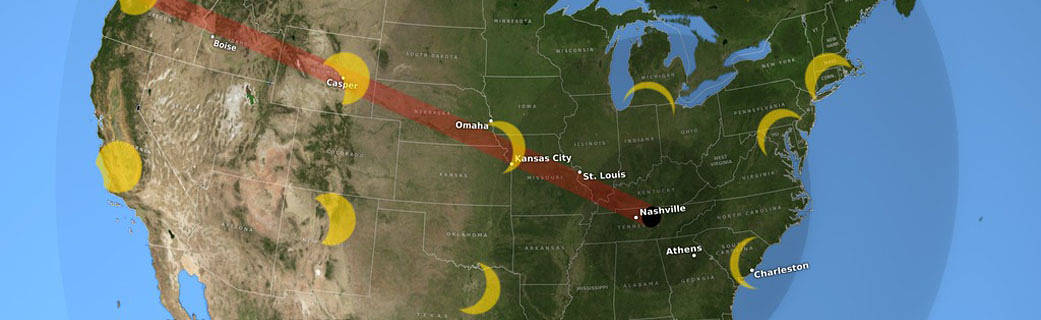 Moon Data Provides More Accurate Eclipse Path NASA - Us total eclipse 2017 map