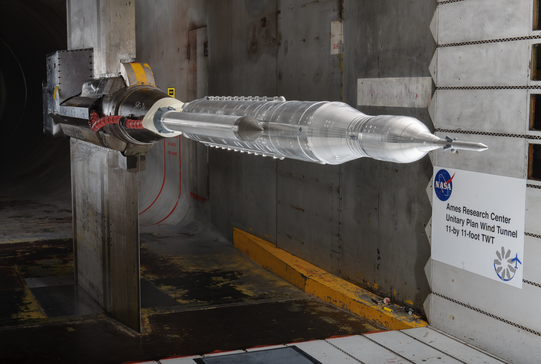 NASA Unitary plan wind tunnel test
