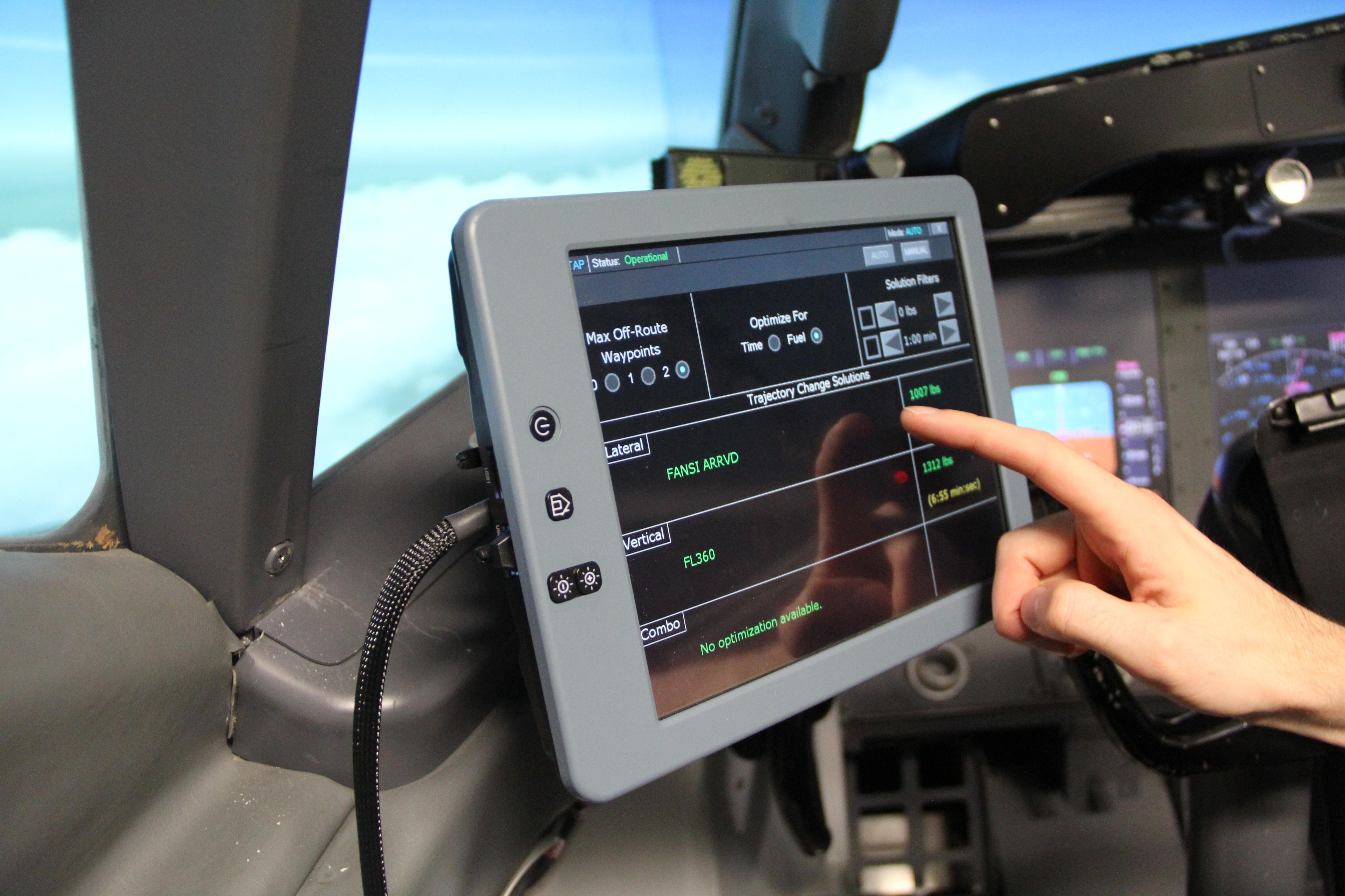 Pit Could Help Pilots Plot Best Path Nasa