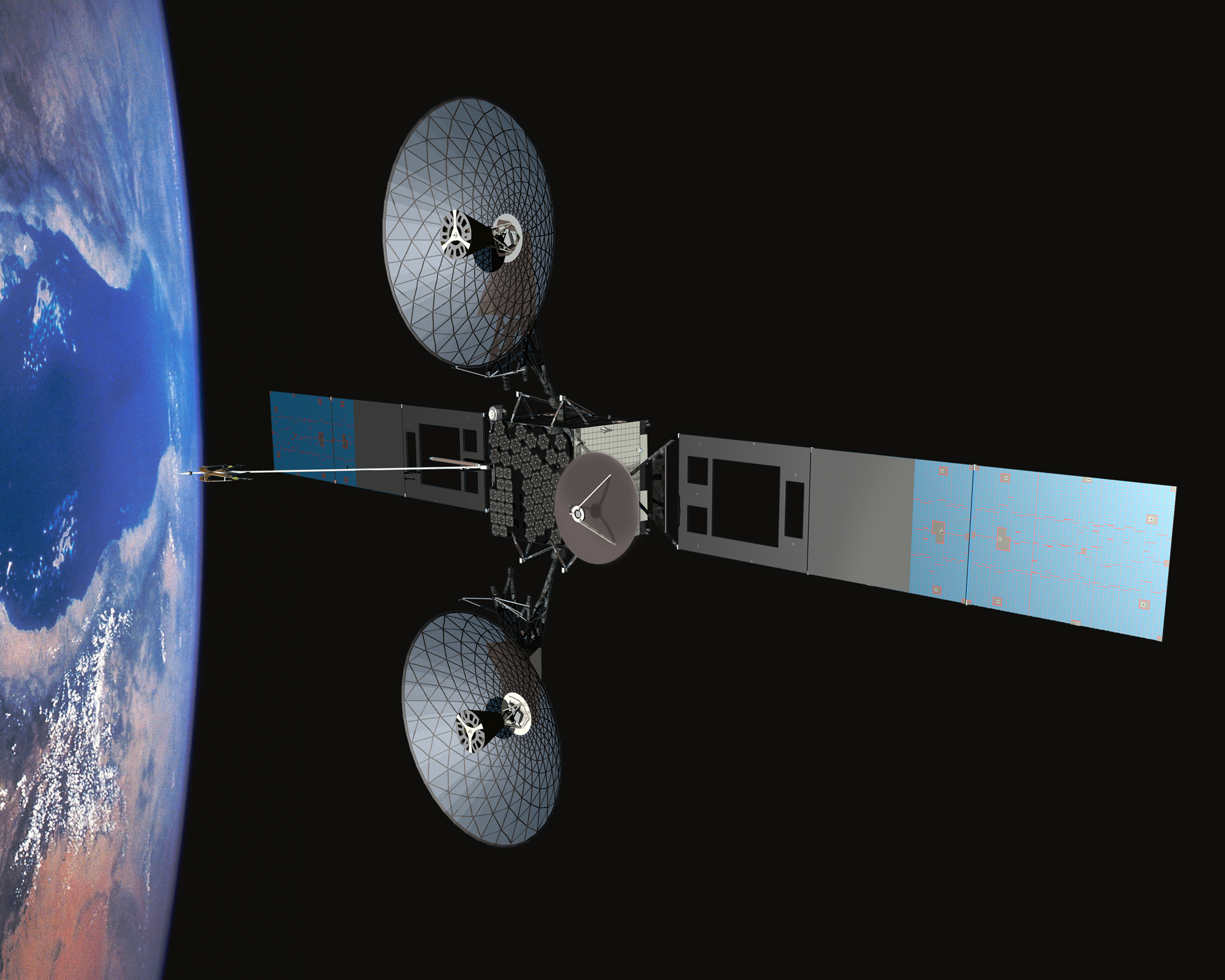 Tracking And Relay Data Satellite Tdrs Project Nasa