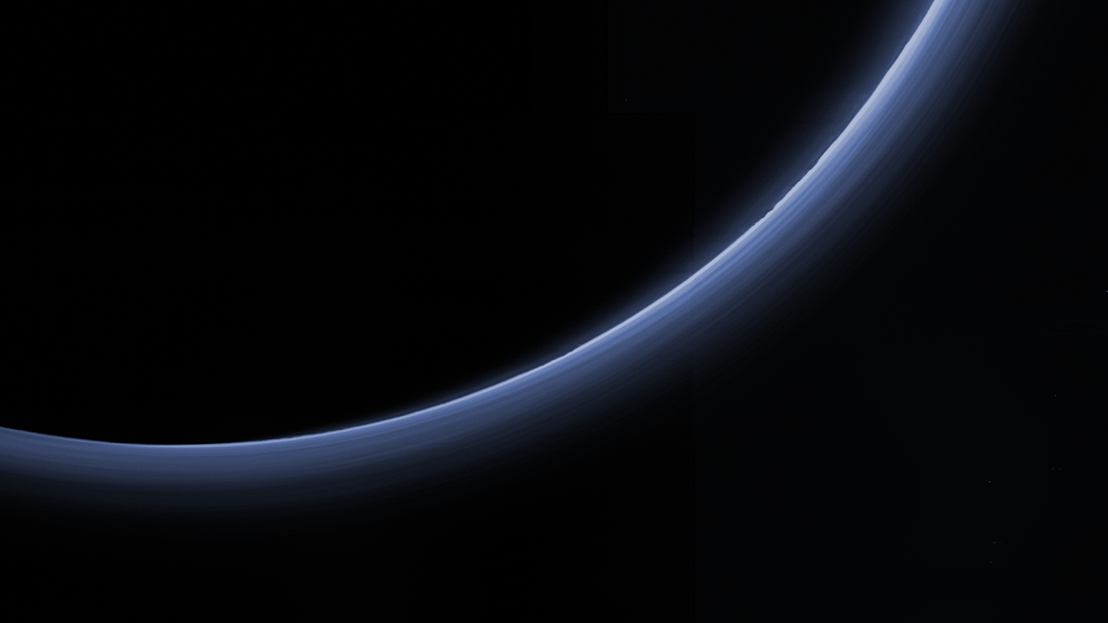 Pluto s atmosphere seen in beautiful high definition for Define pluto