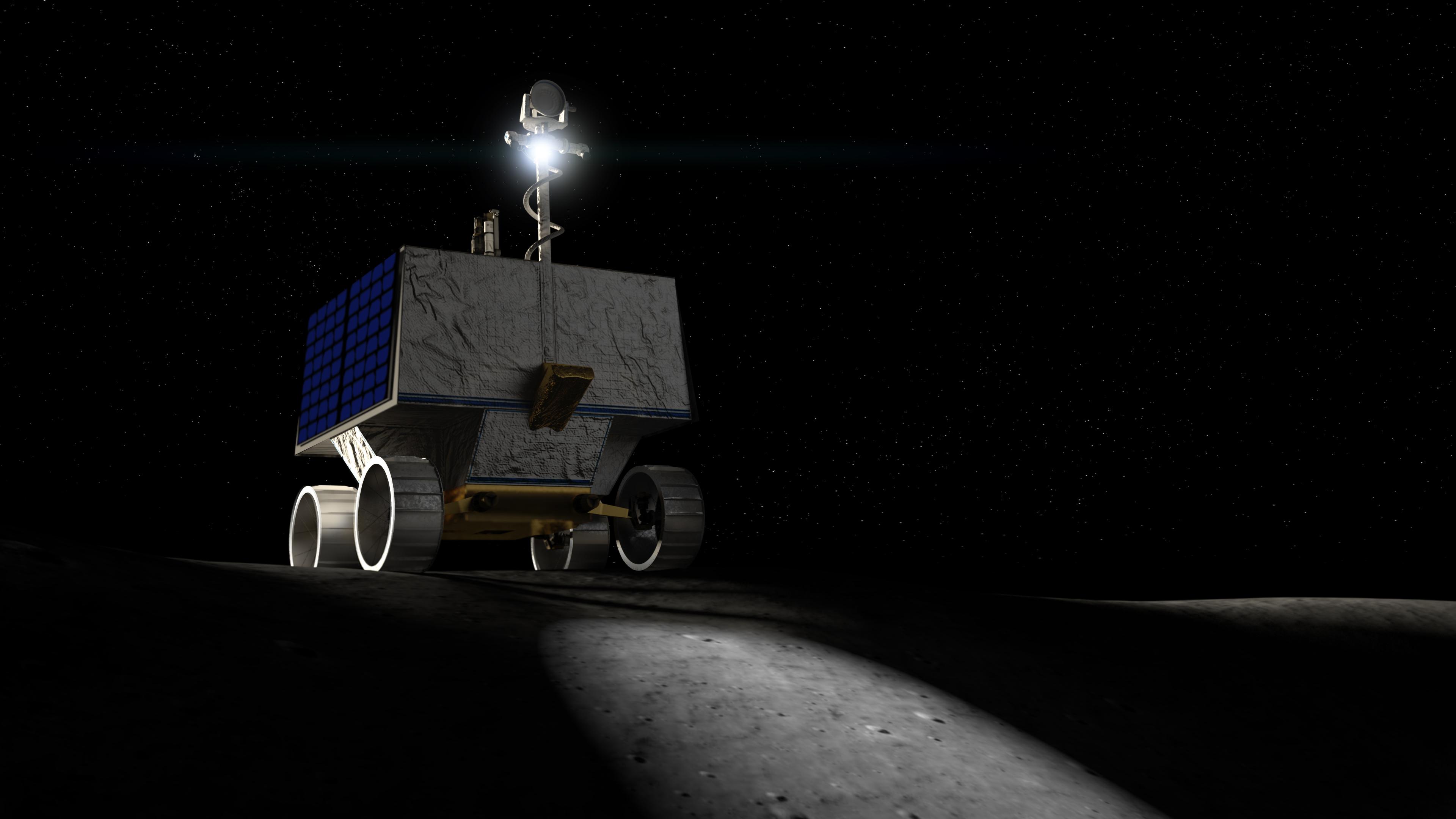 Americký rover VIPER bude zkoumat místo na Měsíci, kam dva roky nato poletí astronauti mise Artemis