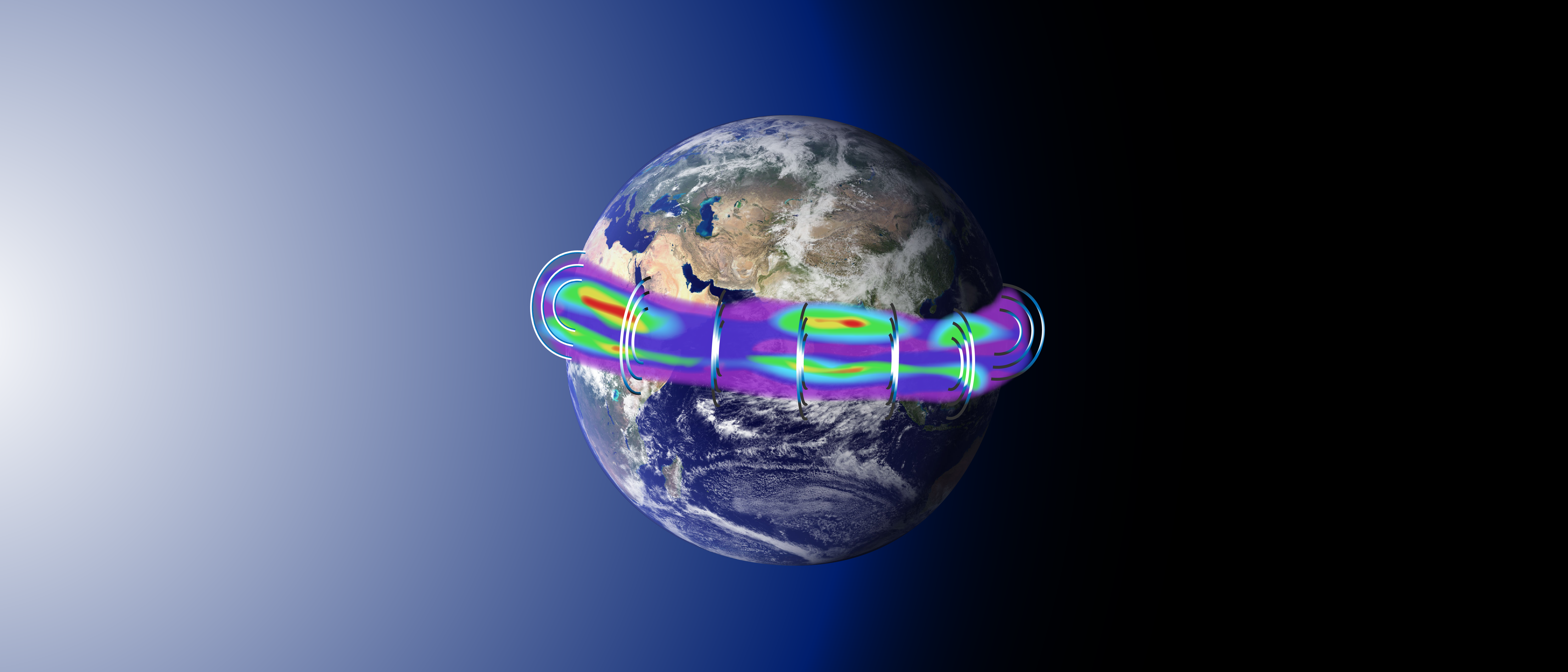Nasas Icon Explores The Boundary Between Earth And Space Nasa 2 Way Switch Illustration Of Interactions Neutral Upper Atmosphere Electrically Charged Ionosphere