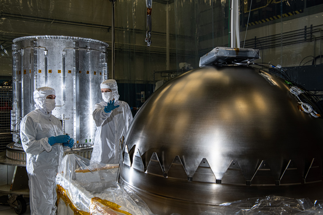 A Few Steps Closer to Europa: Spacecraft Hardware Makes Headway - NASA