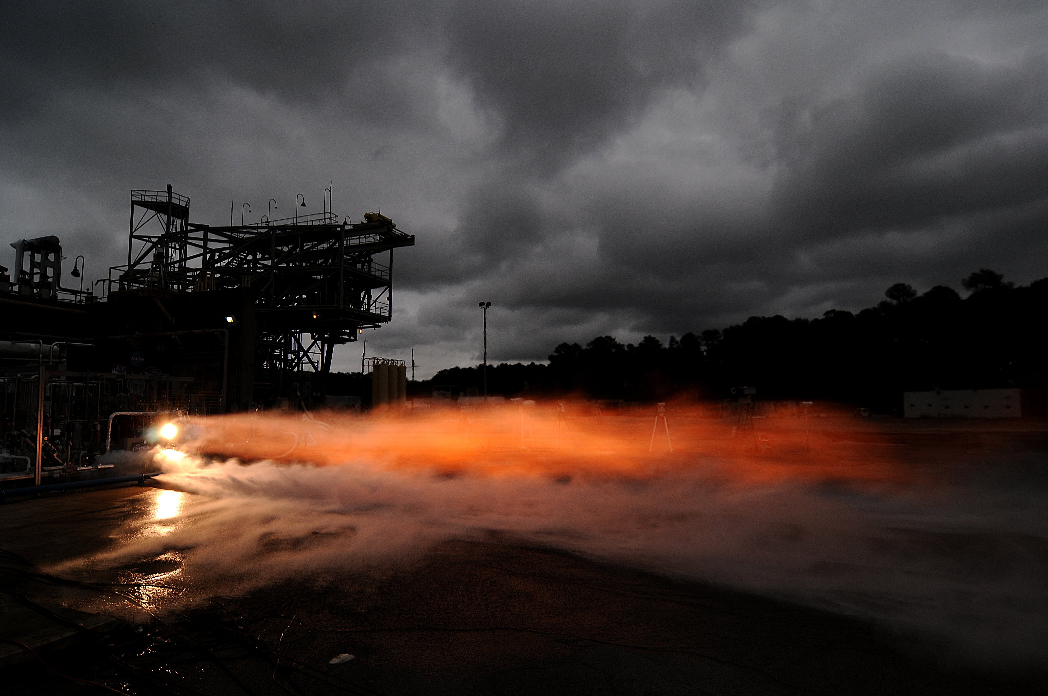 Nasa team moves closer to building a 3 d printed rocket engine nasa during a series of test firings 3 d printed rocket engine parts worked together pooptronica Images