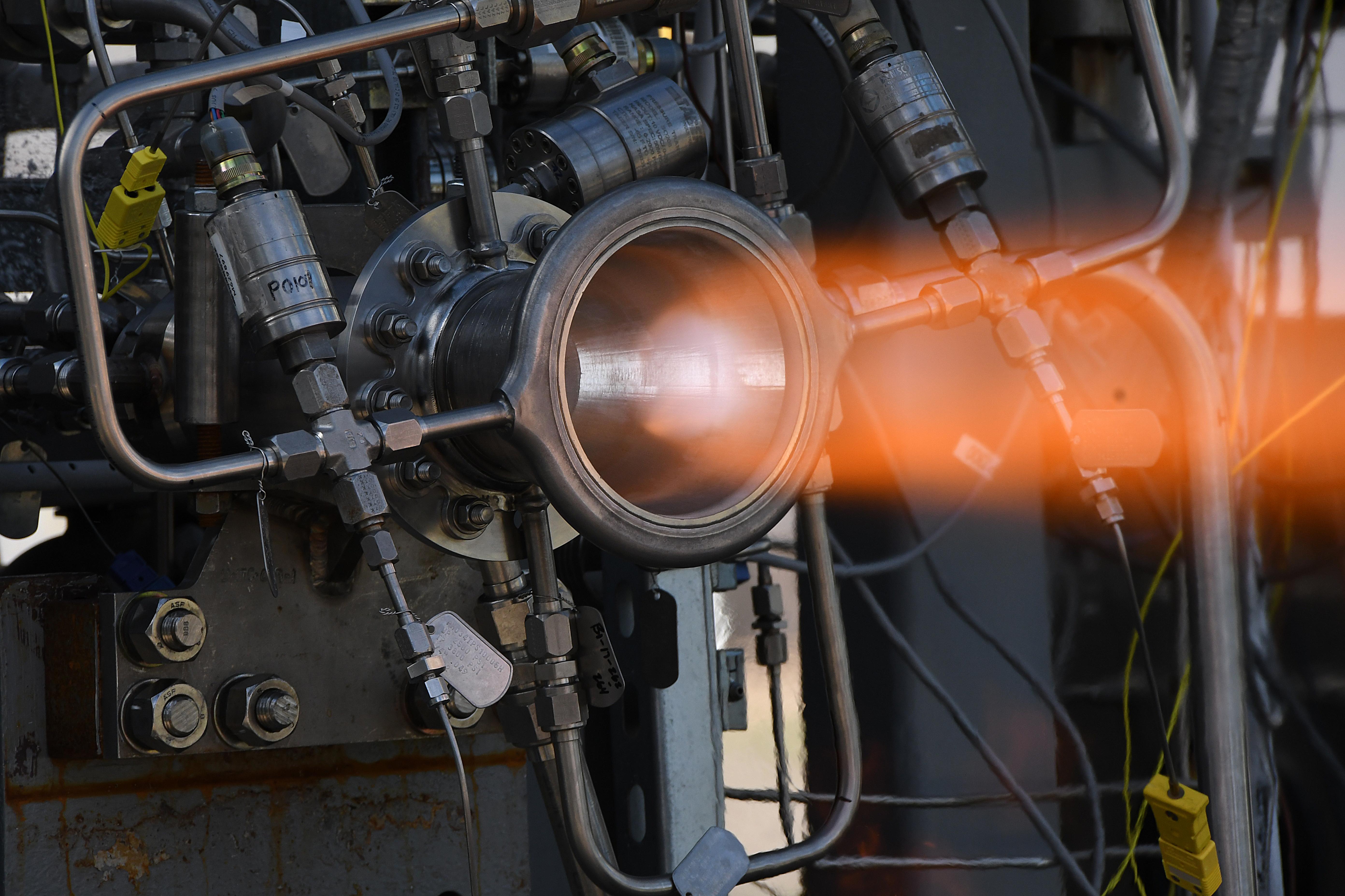 NASA Marshall Advances 3-D Printed Rocket Engine Nozzle